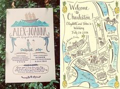 Greet Your Guests With Gusto: Custom Illustrated Invitations