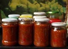 Sos włoski do słoików na zimę Calzone, Ketchup, Preserves, Pickles, Cake Recipes, Salsa, Food And Drink, Homemade, Drinks