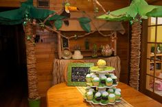 Rainforest/Jungle Birthday Party Ideas | Photo 1 of 40