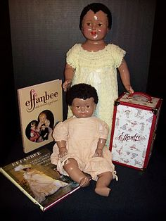 Effanbee African American dolls, 1920s and 30s.