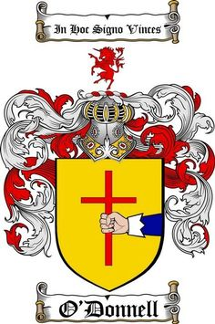 o'donnell family crest | The O'Donnell clan