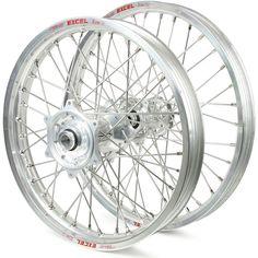 Talon Honda CR250/500 89-94 Silver/Silver Excel Wheel Set