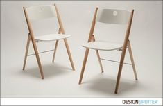 From SAYS WHO furniture design (Denmark): PINOCCHIO foldable chair by SAYS WHO