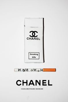 chanel's le smoking (ha)