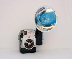 Recycling Kodak Brownie Kamera Uhr von pixelthis auf Etsy, $97.00