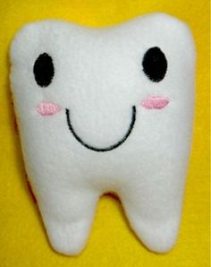 Simple Tooth Pillow