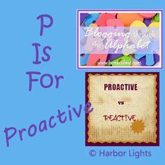 Practive #alphabet #proactive #reactive