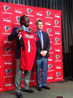 Newest Falcon will be wearing #21 Desmond Trufant Welcome!
