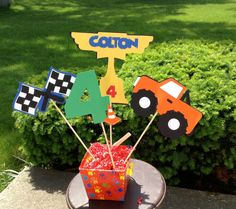 Monster Truck Birthday Party Personalized by BellaPartyCreations, $9.00