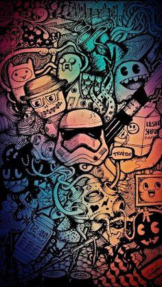 Cartoon Wallpaper, Marvel Wallpaper, Galaxy Wallpaper, Mobile Wallpaper, Wallpaper Backgrounds, Colorful Backgrounds, Nerdy Wallpaper, Graffiti Wallpaper Iphone, Graffiti Art