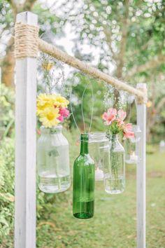 INSPIRACIONES: Reciclamos las botellas…