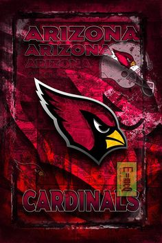 Arizona Cardinals Football Poster, Arizona Cardinals Gift, Arizona Car                      – McQDesign