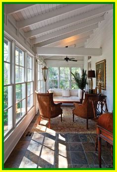Browse pictures of sunroom styles and also decoration. Discover ideas for your 4 periods area enhancement, including ideas for sunroom decorating as well as layouts. House Design, House With Porch, Sunroom Decorating, Porch Furniture, Porch Decorating, Porch Design, Screened Porch Designs, Indoor Porch, House With Balcony
