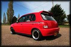 Micra K11, Nissan March, Auto Wheels, Car Stuff, Custom Cars, Cars And Motorcycles, Sick, Mad, Garage