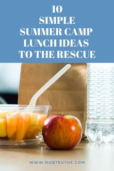School is over and you can breathe a sigh of relief. No more packing lunches! Oh wait. You forgot about Camp. Here are some quick, easy, healthy lunch ideas to pack for those summer camp days (also works for school lunches too! Healthy Lunches For Work, Cold Lunches, Healthy Toddler Meals, Healthy Kids, Healthy Snacks, Toddler Food, Funny School Stories, Summer Camps For Kids, Summer Fun