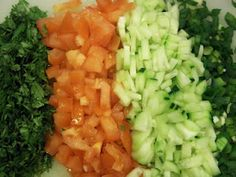 Chopped Veggies? Check out what they are used for....