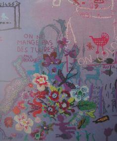 Tilleke Schwarz: On Colour 1997 (detail)