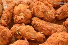 Kuracie krídelká ako z KFC - Recept No Salt Recipes, Winner Winner Chicken Dinner, New Menu, Kfc, Food 52, Fried Chicken, Finger Foods, Chicken Wings, Food And Drink