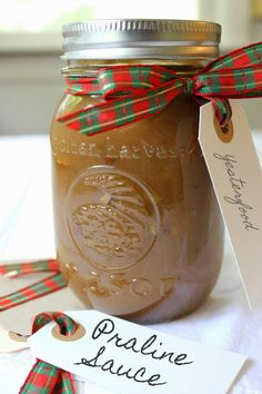 Homemade Praline Sauce. Easy and awesome to make