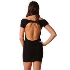 Open Back #Dress