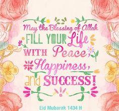 Happy Eid Mubarak 1434