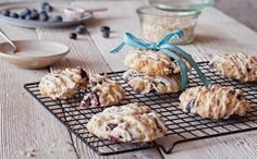 Bake up a batch of oaty chewy goodness with this easy blueberry oatmeal cookie recipe.