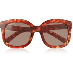 Vivienne Westwood Square Framed Sunglasses (295 NZD) ❤ liked on Polyvore featuring accessories, eyewear, sunglasses, havana, square sunglasses, tortoise sunglasses, square frame sunglasses, uv protection sunglasses and oversized square sunglasses