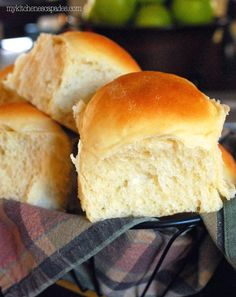 These homemade rolls are hands down the best rolls you will ever make! Dense, moist and a great shelf life because of the added potato in the recipe.