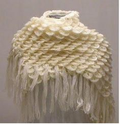 Free crochet shawl wrap pattern