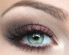 So much sexier than a regular smokey eye, don't you think?