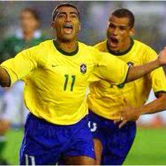 Romário e Rivaldo! Dupla terrível dos anos 90!