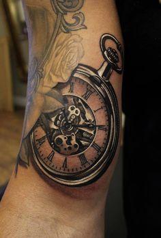 Superb black and grey pocketwatch.. Wow!