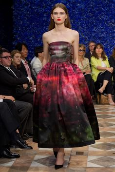 Christian Dior Fall 2012 Couture Fashion Show - Lara Mullen (OUI)