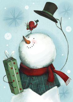Familia nadalenca de ninots de neu (il. Jamie Carter)   Els ninots de neu són figures típiques de l'hiverns, de la neu. Però també han ...