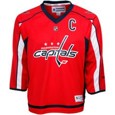 9a6ac9525 Alexander Ovechkin Washington Capitals NHL Youth Captain Jersey  Celebrate  your favorite player with this jersey featuring high quality screen printed  on ...