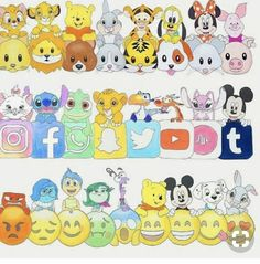 Emoji Disney Emoji Disney You are in the right place about drawing disney beauty and the beast Here we offer you the most beautiful pictures about the drawing disney easy you are looking for. When you examine the Emoji Disney part of the picture you can Kawaii Disney, Disney Art, Disney Ideas, Disney Pins, Cute Disney Drawings, Kawaii Drawings, Cute Drawings, Drawing Disney, Amazing Drawings