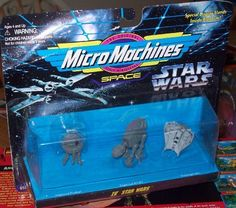 Micro Machines SPACE - Star Wars IV by Galoob. $4.45. Micro Machines SPACE - Star Wars IV. IMPERAL PROBOT. IMPERAL AT-AT. SNOWSPEEDER