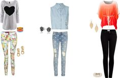 """""""Outfits for school"""" by emmagem00 on Polyvore"""