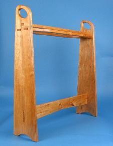 Contemporary Quilt rack