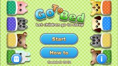 Go To Bed: A puzzle game where you have to get a number of animal children to bed, but strategically