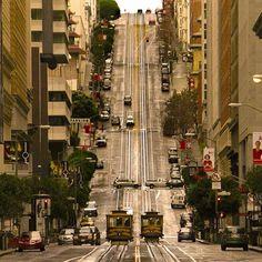 Nobb hill district, San Francisc