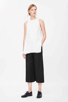 COS | Layered crepe top