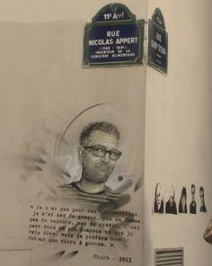 Charb - rue Nicolas Appert