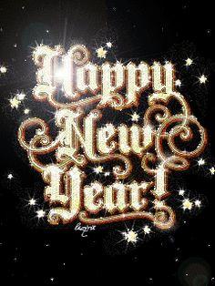 Happy New Year - GIF