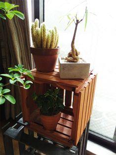 敷くだけじゃないんです。セリアの「100均ウッドデッキ」活用術   LOVEGREEN(ラブグリーン) Home Deco, Planter Pots, Decoration Home