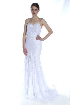 Berta Bridal. Reception dress!