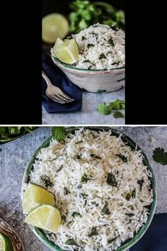 This cilantro lime rice is light, fluffy & packed with citrus goodness. This is a cilantro lime rice recipe that's vegan, gluten-free and made in one pot. Great for vegan lunch recipes & vegan dinner recipes. This ain't no copycat, this is the original cilantro lime rice that's better than Chipotle. #veganrecipe #cilantrolimerice #ricecooker #cilantrolimericerecipe #easy #vegan #glutenfree #onepot #veganrecipevideos #veganlunchrecipes #vegandinnerrecipes Vegan Lunch Recipes, Best Vegan Recipes, Vegan Dinners, Mexican Food Recipes, Best Vegan Breakfast, Vegan Breakfast Recipes, Chipotle Copycat Recipes, Cilantro Lime Rice, Rice Cooker