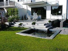 Terrasse Hanglage Modern Mit Uncategorized Moderne Dekoration Moderner  Garten Hang Und 14 Schones Ideen Malerei Finden