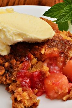 Dump Cake Recipe with Coconut, Pineapple and Cherries