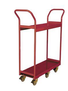 Narrow Aisle 2 Book Cart